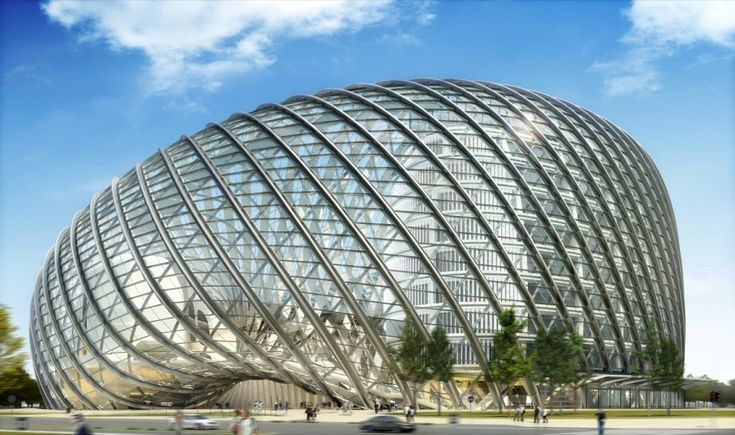 Passed this Building everyday while living in Beijing!! Phoenix International Media Center, Beijing (BIAD UFo)