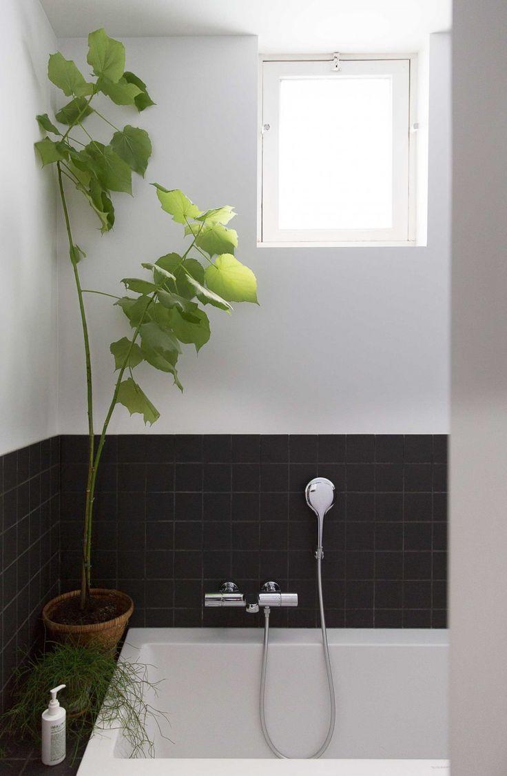 25 beste idee n over badkamer zwart op pinterest - Doucheruimte deco ...