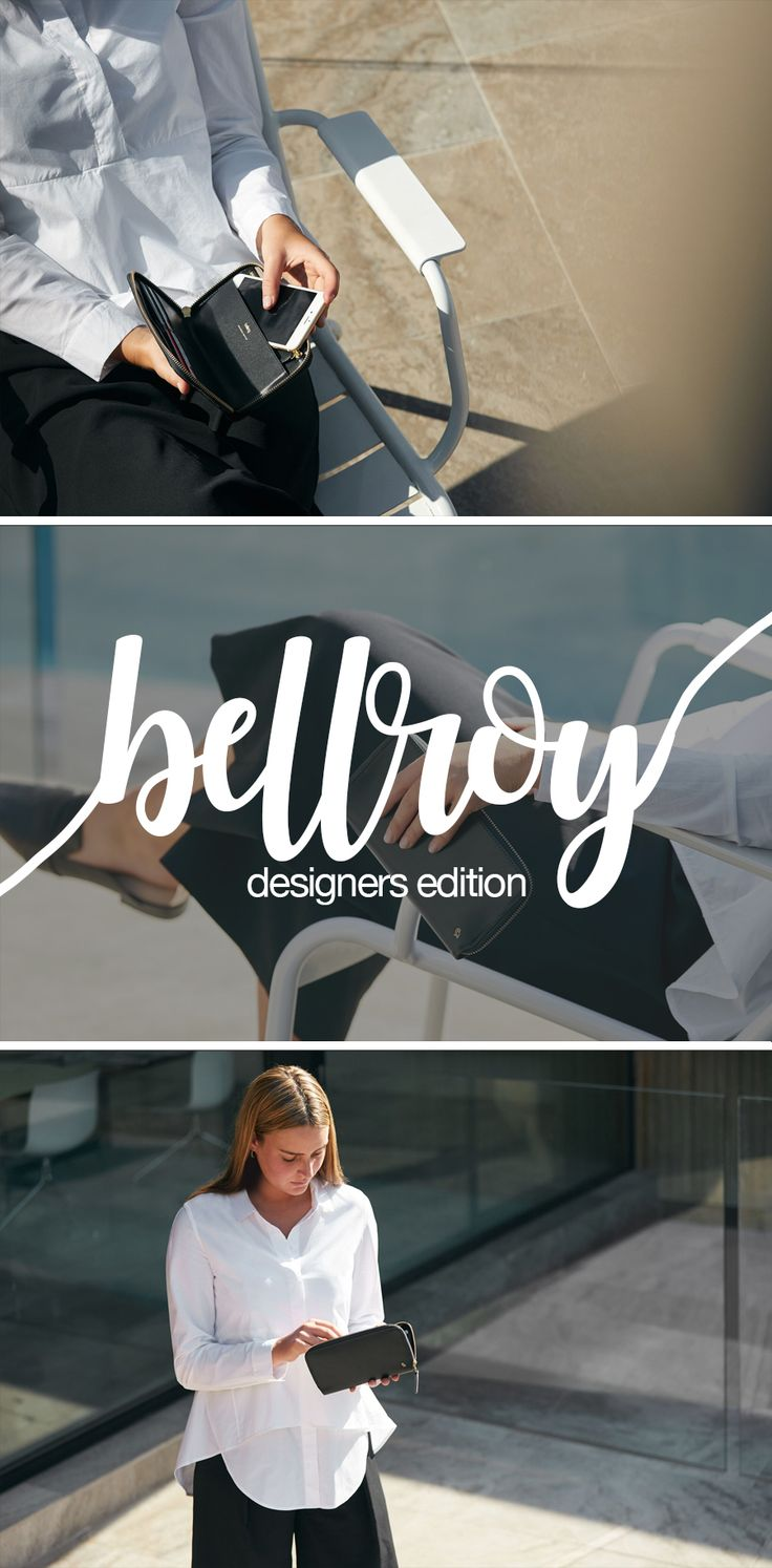 Indulge in the exclusive Bellroy Designers Edition. Free shipping NZ wide. www.luggage.co.nz