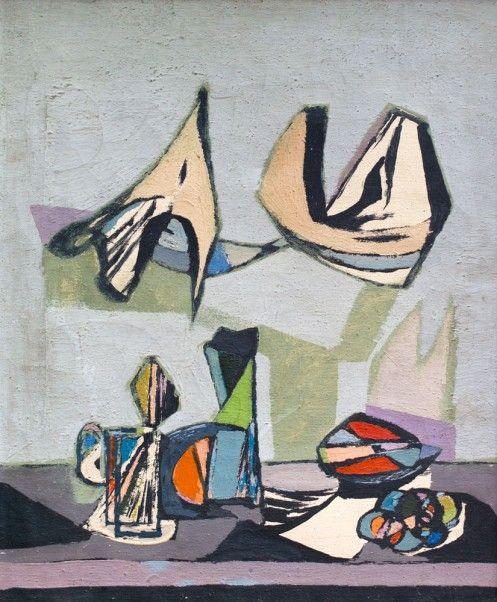 Jankel Adler - Still Life Abstract