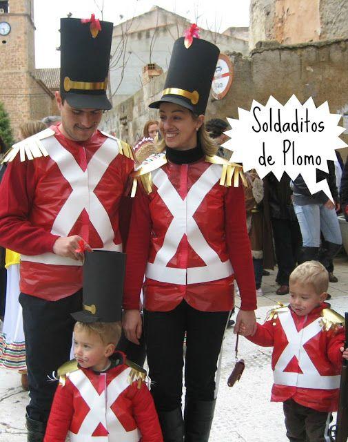 """Creando Ardiles: Disfraz casero """"Soldaditos de Plomo"""""""