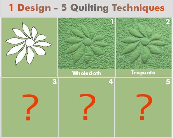 Best images about quilt trapunto style on pinterest