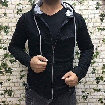 Erkek kapşonlu polar siyah sweatshirt modellerini ucuz fiyatlarıyla kapıda ödeme ve taksit ile Outlet Çarşım'dan satın al.