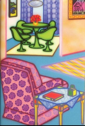 Fab Room by Howard Arkley