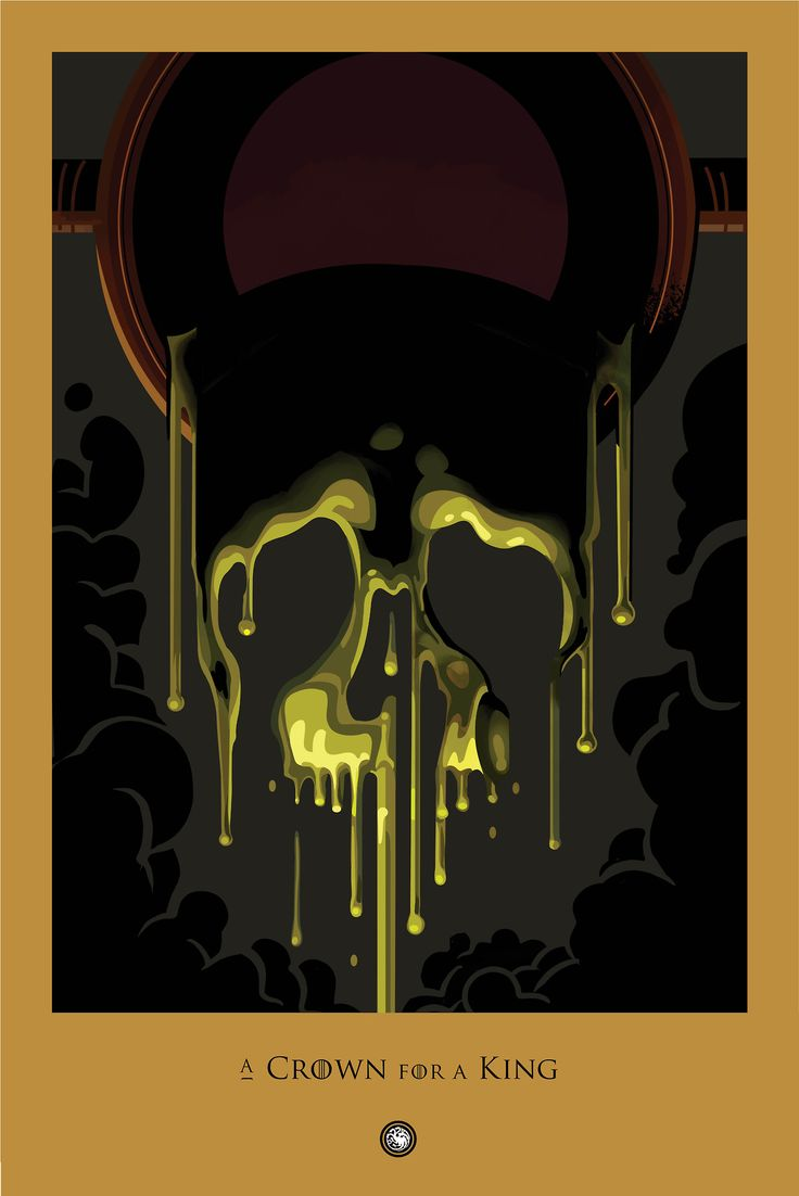 A Crown For a King ~ Game of Thrones Beautiful Death posters (a countdown to season 4)