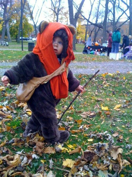 Best Halloween costume for a kid ever.