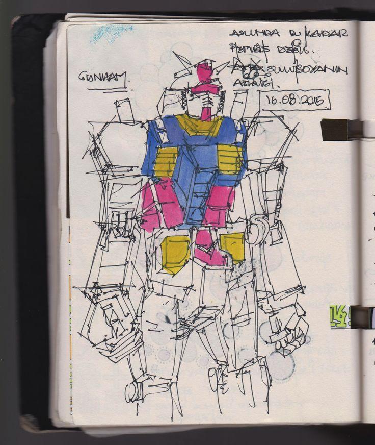 Gundam from Odaiba City, Tokyo.