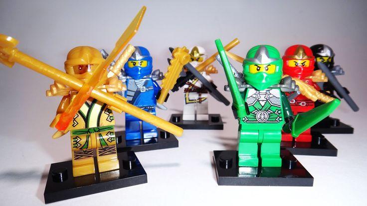 Мини фигурки типа Лего Ниндзя Го в посылке из Китая