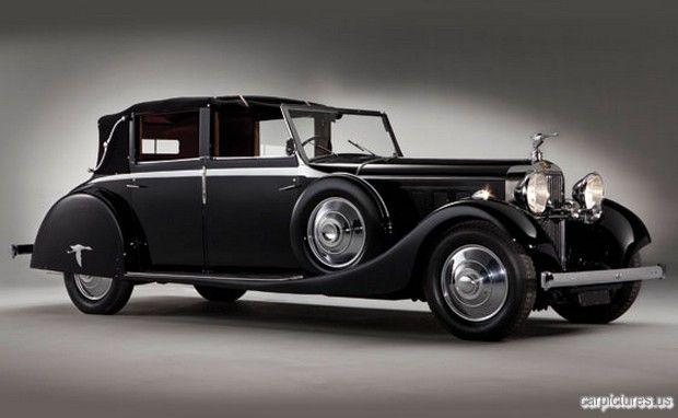 1935 Hispano-Suiza J12 Cabriolet deVille by Saoutchik