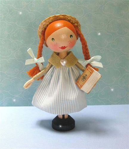 129 best images about clothespin dolls on pinterest for Anne of green gables crafts