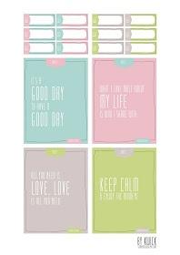 Project Life: { Freebies Printemps }