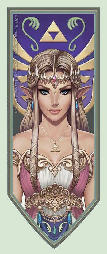Zelda game illustration - this is absolutely flawless!!!