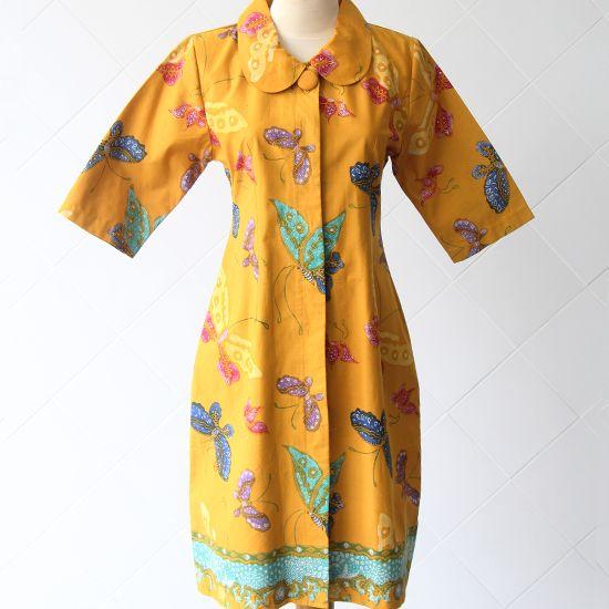 Batik Tulis Cirebon | Ukuran Pundak: 37; Bahu: 10; Lingkar Badan: 90; Lingkar Pinggang: 82; Panjang Lengan: 36; Panjang Blouse: 93 | Rp 350.000