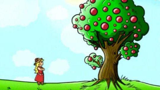 Een vrolijk liedje over een tuintje en dat het fijn zou zijn als daar alles in groeit wat je wenst!