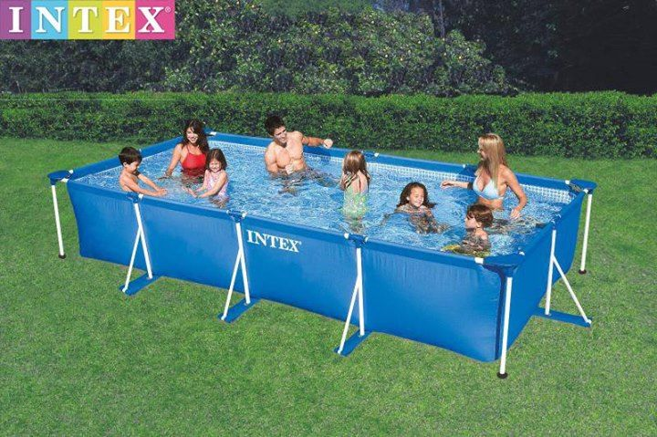 Rectangular Frame Pool Item Code Int28273 Size 4 5m X 2 2m X