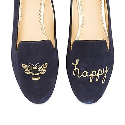 The signature buzzworthy Bee Happy Smoking Slipper is back!