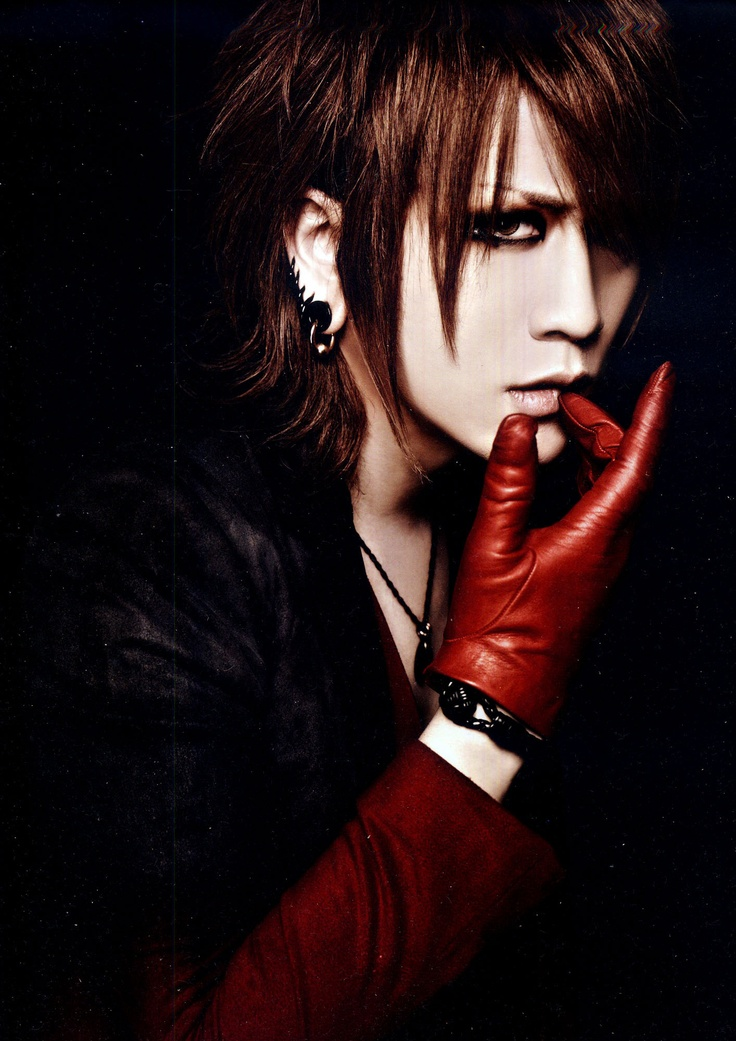 The GazettE Vocalist -> Ruki