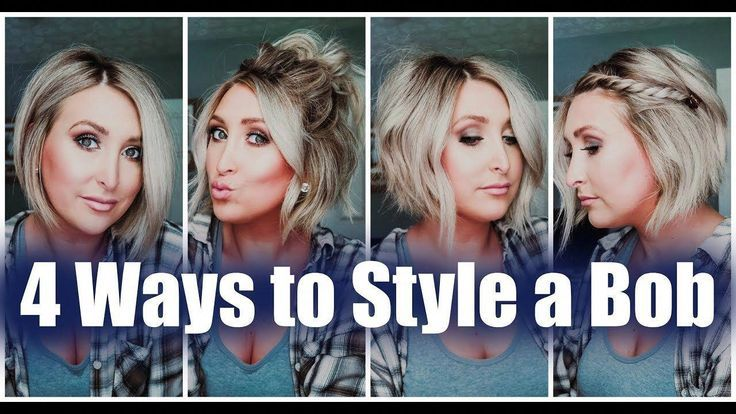 4 WAYS TO STYLE A BOB | EASY SHORT HAIR TUTORIALS | Summer Whitfield – YouTube #…
