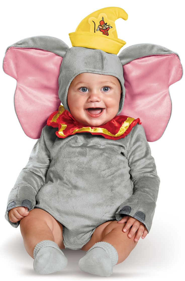 Dumbo Deluxe Infant Costume #halloween #costumes #disney #dumbo #babies