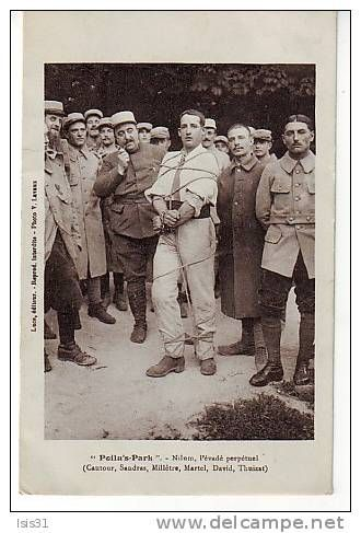 "WWI entertainment; ""Poilu-Park, The Perpetual Escapee"" -Revue for French Soldiers - Delcampe.net"