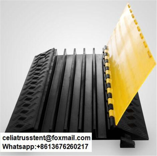 5 Channels Wire Cover Outdoor Event Cable Wire Protector Wire Protectors Cable Wire Cable Protector