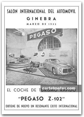 1952 - PEGASO Z-102 GINEBRA