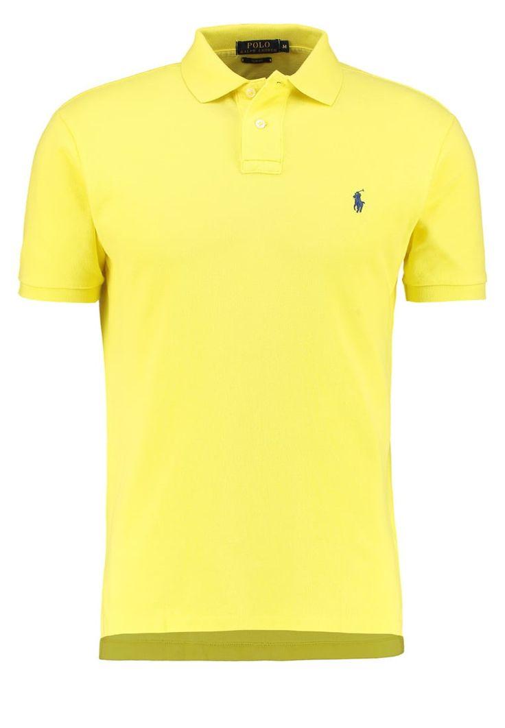 Polo Ralph Lauren SLIM FIT Poloshirt beach lemon Premium bei Zalando.de | Material Oberstoff: 100% Baumwolle | Premium jetzt versandkostenfrei bei Zalando.de bestellen!