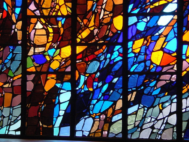 Clifton Cathedral stained Glass