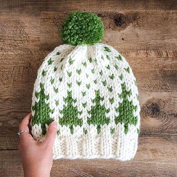Timber Toque Knitting Pattern Fair Isle Fair Isle Knit Hat