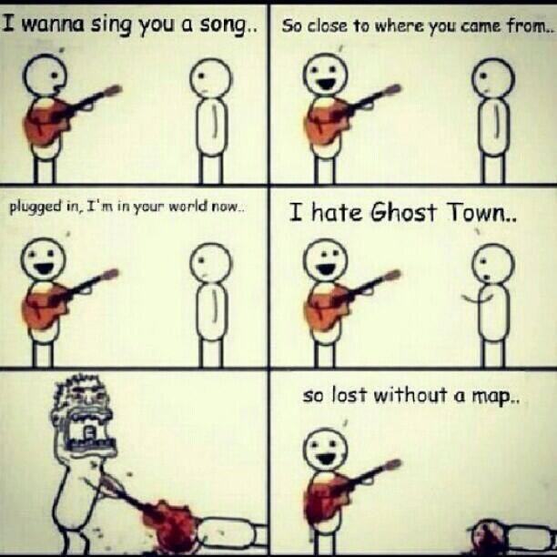 Game Freak~ Ghost Town Meme