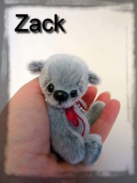 Zack by By HappyTeddy by Aleksandra J. | Bear Pile