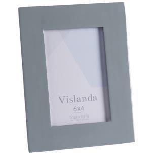 Vislanda 6x4 inlaid aluminium frame -Grey