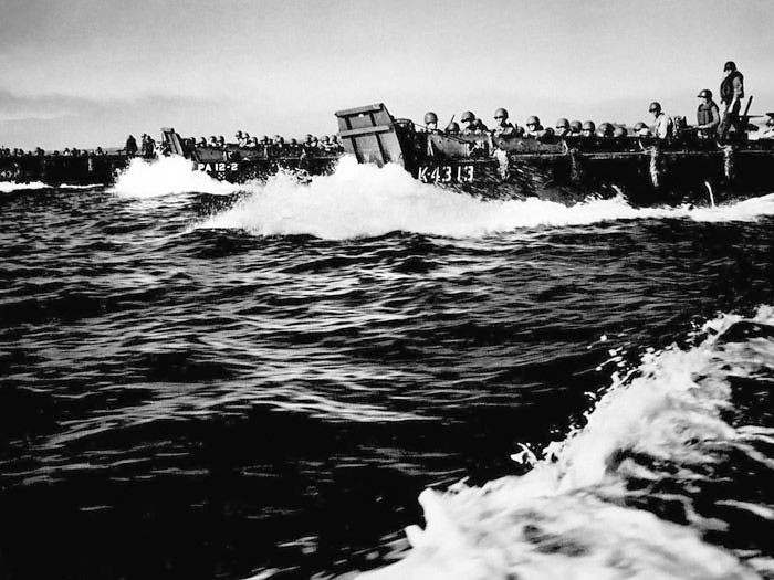 landing craft used d day