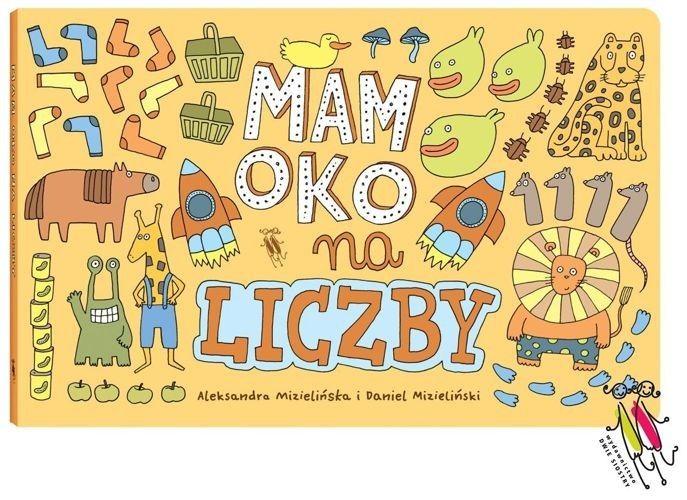 Mam oko na liczby - MamOko to seria rodzimych wyszukiwanek, wprawiających w zachwyt czytelników w każdym wieku.