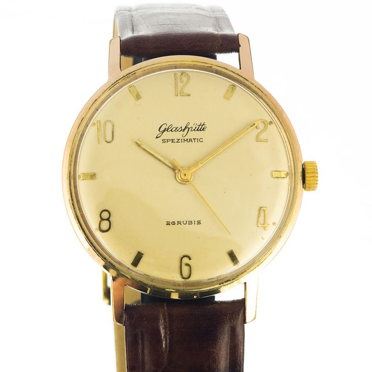 Glashütte spezimatic hand-winding watch like in new condition