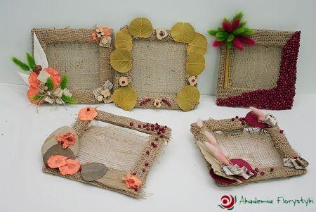 Kwiatowe ramki na zdjęcia - idealne na pamiątkowe fotografie. #ramka #diy #dom #zdjęcia #foto