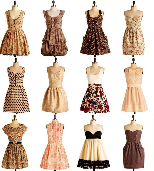 i love every single one of these dresses: Pretty Dresses, Summer Dresses, Fashion, Dreams Closet, Style, Clothing, Cute Dresses, Vintage Dresses, Beautiful Dresses