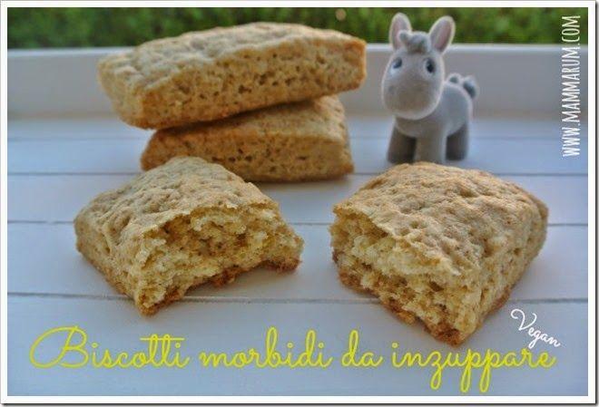 Mammarum: Biscotti morbidi da inzuppare senza burro e uova (...