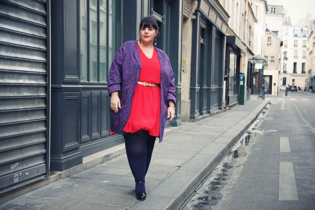 Great French plus-size blog. In French and EnglishPlussize
