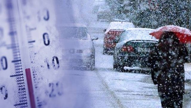 Αναμένονται χιόνια πολικές θερμοκρασίες και καταιγίδες από την Παρασκευή