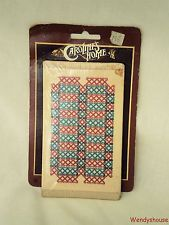 VINTAGE CAROLINES HOME DOLLS HOUSE RUG/MAT/CARPET MOC #2 FREE UK P & P