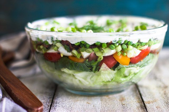 Seven Layer Salad Recipe You Could Seriously Eat Every Day | eHow | eHow