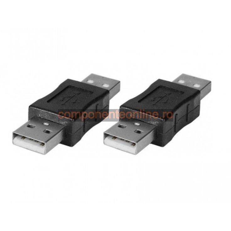 Adaptor USB A, tata - USB A, tata - 126901
