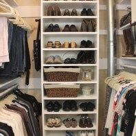 A roundup of 10 perfect closets we've all been dreaming of having: neatly organized and filled with good stuff!