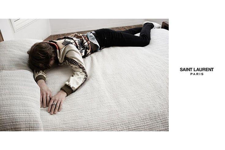 """Saint Laurent """"Surf Sound"""" Campaign"""