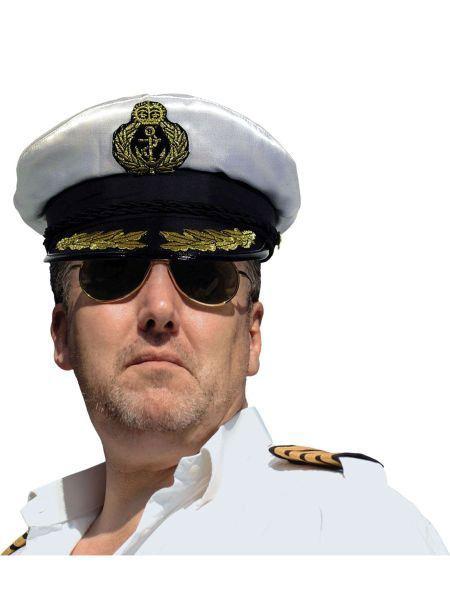 """https://11ter11ter.de/40338237.html Mütze """"Kapitän Marine Admiral"""" #11ter11ter #Fasching #Mottoparty #Party #Outfit #Kostüm #Mütze #Marine #maritim"""
