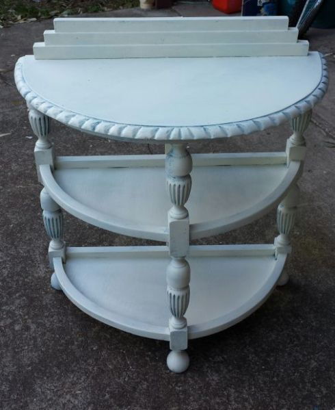 Side table with 3 shelves   Other Furniture   Gumtree Australia Redland Area - Redland Bay   1052424714