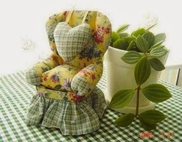 Pattern for doll chair