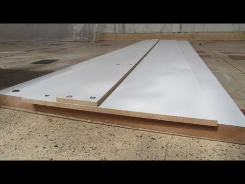 Guia para serra circular com base de proteção da lâmina - YouTube