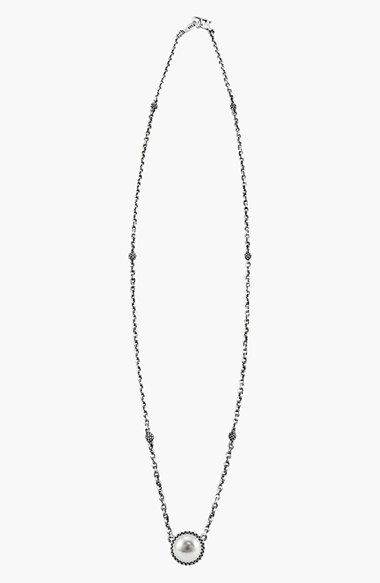 Lagos 'Luna Pearl' Pendant Necklace available at #Nordstrom